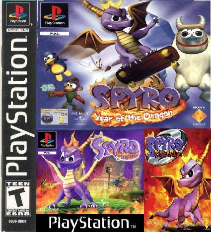 Spyro 3 IN 1 FULL RUS